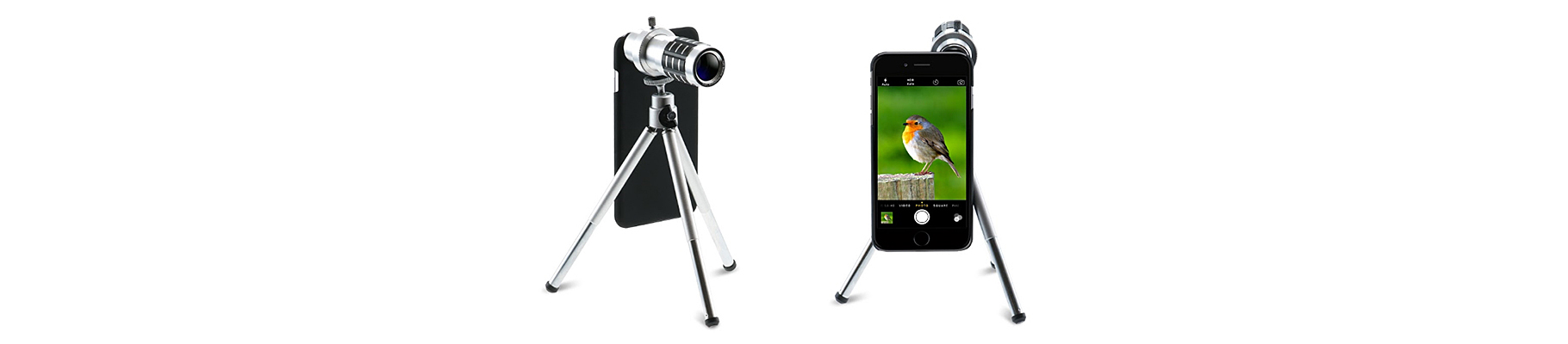 cell phone lens with tripod