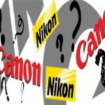 Canon, nikon question marks which one