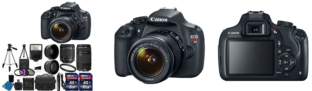 Canon EOS Rebel T5 DSLR Bundle Ranked Number 1 in Camera bundles