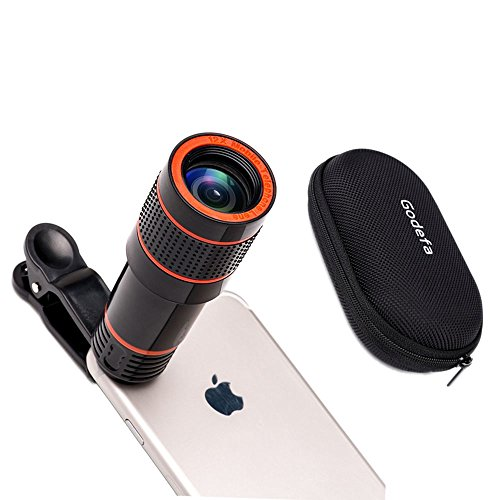 huge selection of 662c0 d4f72 For iPhone Lens, 0.4X Wide Angle Lens + 180°Fisheye Lens & 10X Macro Lens,  Clip on Cell Phone Lens for iPhone Camera Lens for iPhone 7 Plus, 8, 7, ...