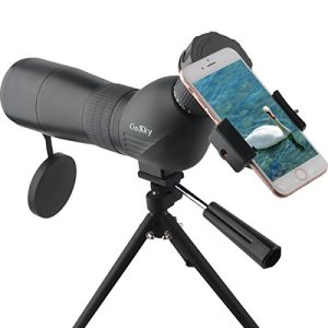Gosky Skybird 60mm Spotting Scope & Quick Smartphone Mount Kit – with Metal TabletopTripod – Capture and Share Beauty in Distant World