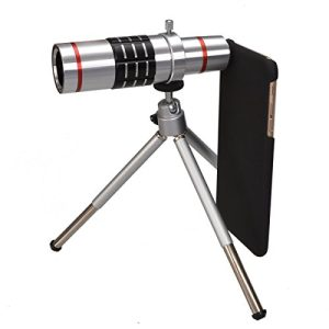 MY MIRACLE 18x Optical Telescope Camera Lens with Tripod+ cell phone case (iPhone 7)