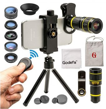 Godefa Cell Phone Camera Lens Full Kit