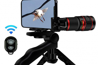 20X Zoom Telephoto Mobile Phone Camera Lens, Stronger Phone Tripod, Wireless Remote Shutter